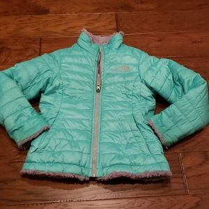 Reversable north face jacket